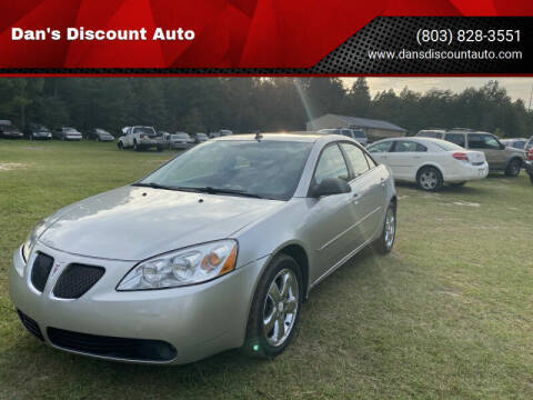 2008 Pontiac G6 for sale at Dan's Discount Auto in Gaston SC