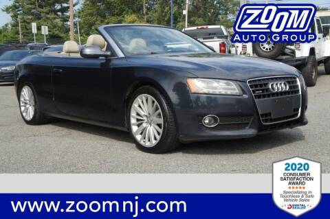 2012 Audi A5 for sale at Zoom Auto Group in Parsippany NJ