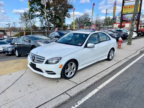 2011 Mercedes-Benz C-Class for sale at JR Used Auto Sales in North Bergen NJ