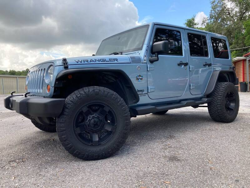 2012 Jeep Wrangler Unlimited for sale at Auto Liquidators of Tampa in Tampa FL