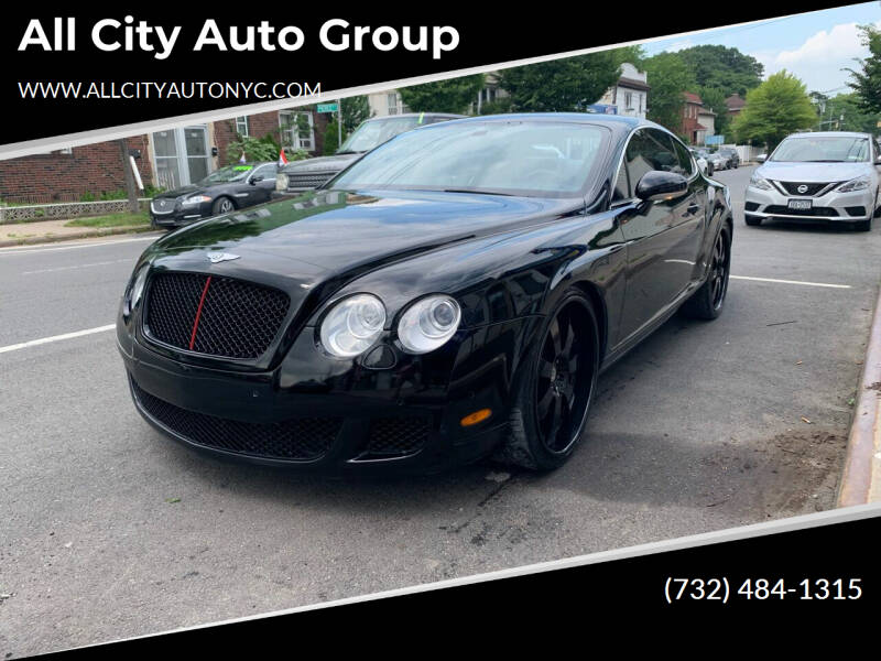 2006 Bentley Continental for sale at All City Auto Group in Staten Island NY