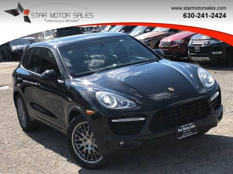 2014 Porsche Cayenne for sale at Star Motor Sales in Downers Grove IL