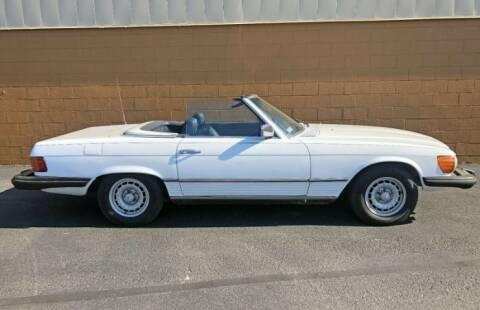 1977 Mercedes-Benz 450 SL for sale at Classic Car Deals in Cadillac MI