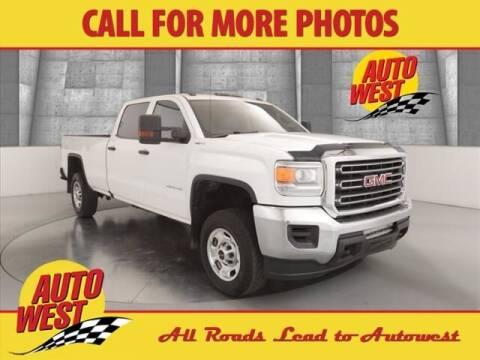 2017 GMC Sierra 2500HD for sale at Autowest of GR in Grand Rapids MI