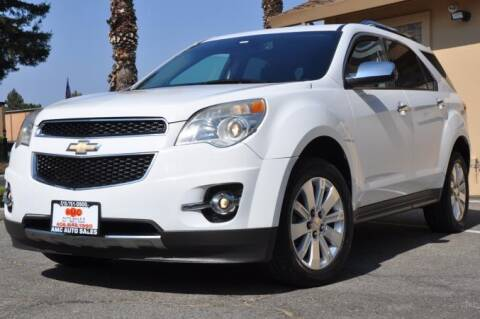 2011 Chevrolet Equinox for sale at AMC Auto Sales Inc in San Jose CA