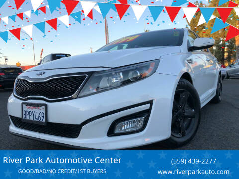 2014 Kia Optima for sale at River Park Automotive Center in Fresno CA