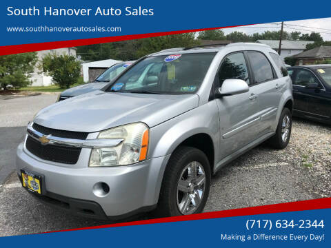 2009 Chevrolet Equinox for sale at South Hanover Auto Sales in Hanover PA