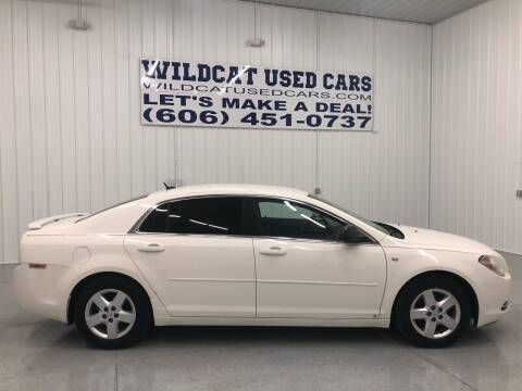2008 Chevrolet Malibu for sale at Wildcat Used Cars in Somerset KY