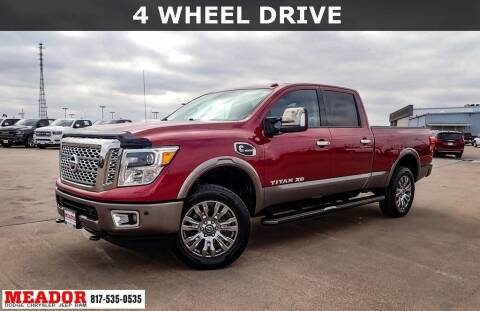 2016 Nissan Titan XD for sale at Meador Dodge Chrysler Jeep RAM in Fort Worth TX