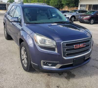2014 GMC Acadia for sale at Apex Auto SA in San Antonio TX
