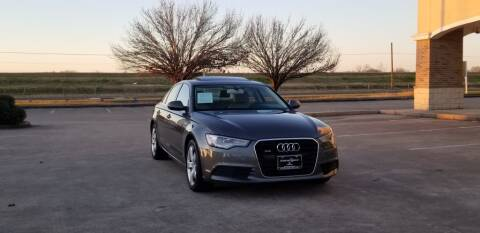 2012 Audi A6 for sale at America's Auto Financial in Houston TX