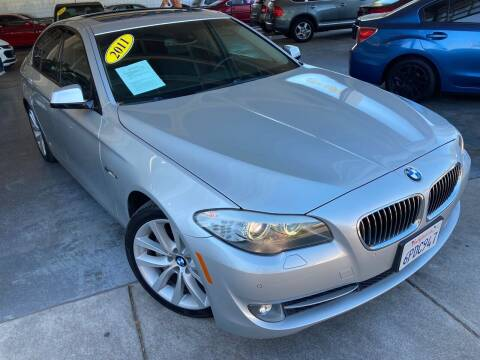 2011 BMW 5 Series for sale at Sac River Auto in Davis CA
