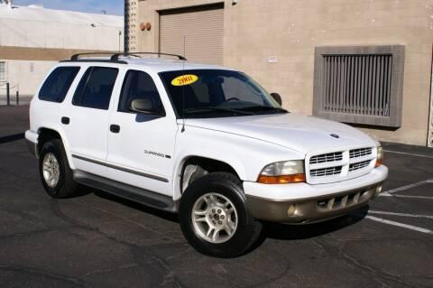 2001 Dodge Durango for sale at EXPRESS AUTO GROUP in Phoenix AZ