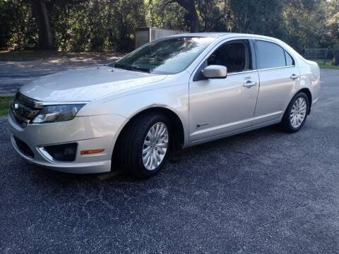 2010 Ford Fusion Hybrid for sale at Royal Auto Trading in Tampa FL