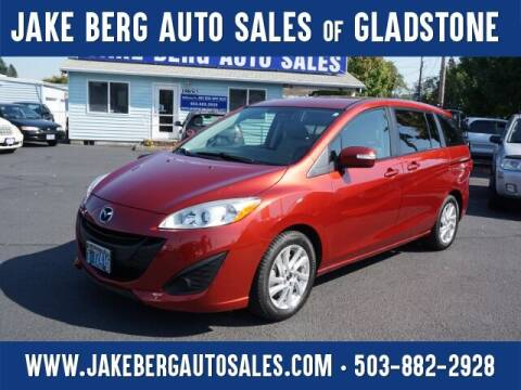 2013 Mazda MAZDA5 for sale at Jake Berg Auto Sales in Gladstone OR