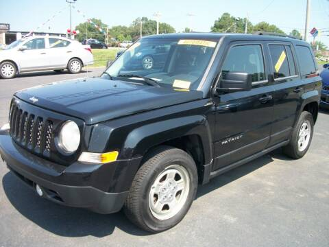 2012 Jeep Patriot for sale at Lentz's Auto Sales in Albemarle NC