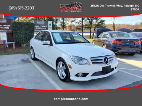 2010 Mercedes-Benz C-Class for sale at Complete Auto Center , Inc in Raleigh NC