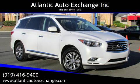 2014 Infiniti QX60 for sale at Atlantic Auto Exchange Inc in Durham NC
