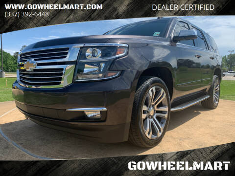 2018 Chevrolet Tahoe for sale at GOWHEELMART in Leesville LA