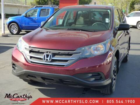 2012 Honda CR-V for sale at McCarthy Wholesale in San Luis Obispo CA