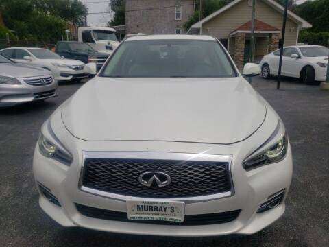 2015 Infiniti Q50 for sale at Murrays Used Cars Inc in Baltimore MD