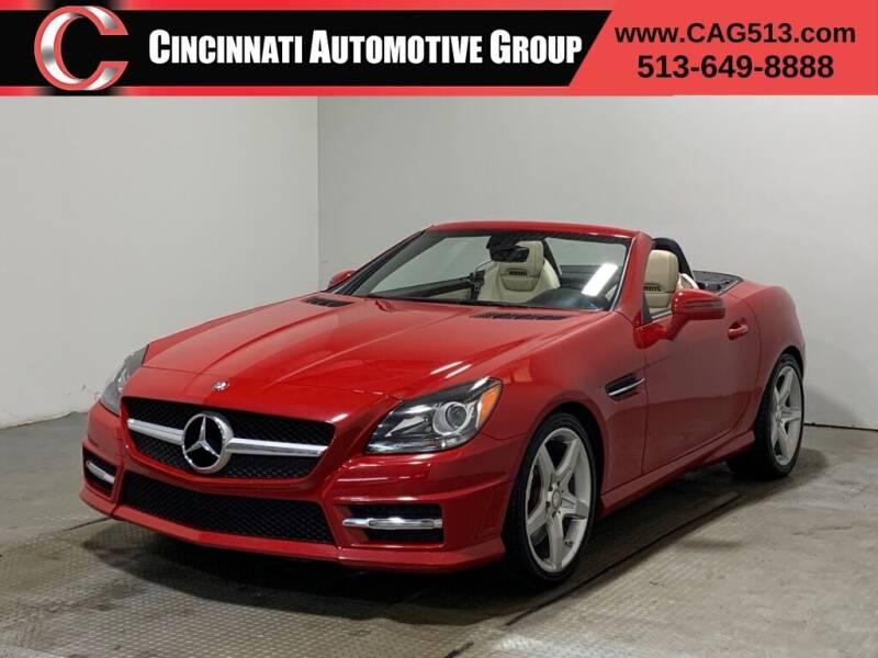 2012 Mercedes-Benz SLK for sale at Cincinnati Automotive Group in Lebanon OH