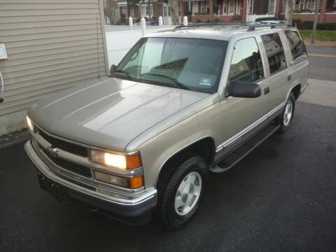 1999 Chevrolet Tahoe for sale at Pinto Automotive Group in Trenton NJ