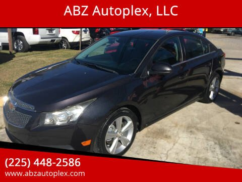 2014 Chevrolet Cruze for sale at ABZ Autoplex, LLC in Baton Rouge LA