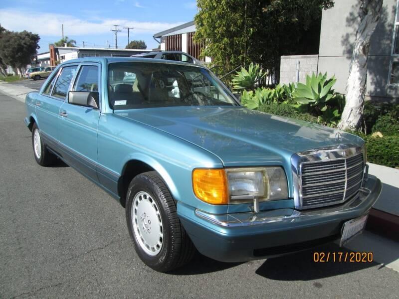 1991 Mercedes-Benz 420-Class for sale at Elite Dealer Sales in Costa Mesa CA