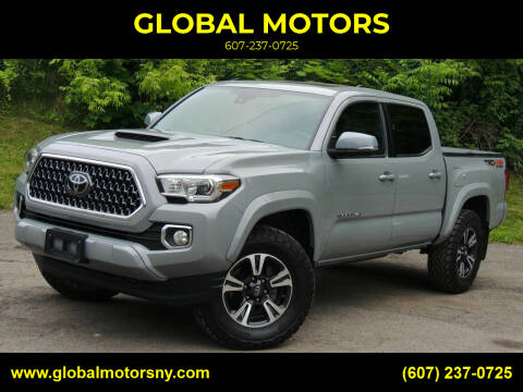 2019 Toyota Tacoma for sale at GLOBAL MOTORS in Binghamton NY
