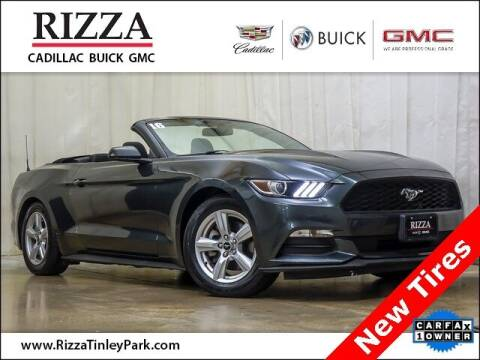 2016 Ford Mustang for sale at Rizza Buick GMC Cadillac in Tinley Park IL