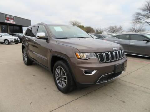 2020 Jeep Grand Cherokee for sale at KIAN MOTORS INC in Plano TX