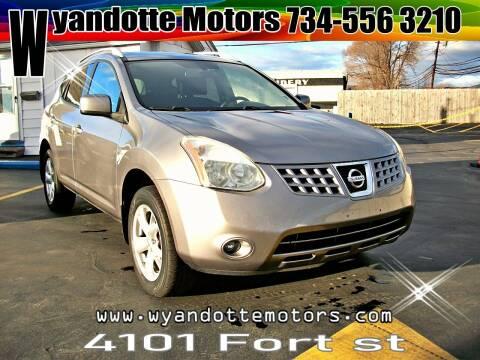 2008 Nissan Rogue for sale at Wyandotte Motors in Wyandotte MI