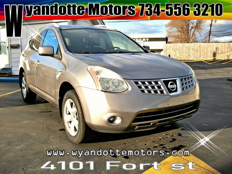 2008 Nissan Rogue for sale at Wyandotte Motors in Wyandotte MI