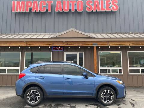 2016 Subaru Crosstrek for sale at Impact Auto Sales in Wenatchee WA