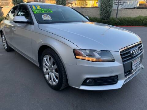 2012 Audi A4 for sale at Select Auto Wholesales in Glendora CA