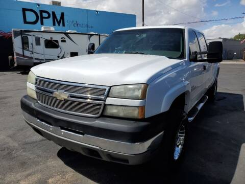 2005 Chevrolet Silverado 2500HD for sale at DPM Motorcars in Albuquerque NM