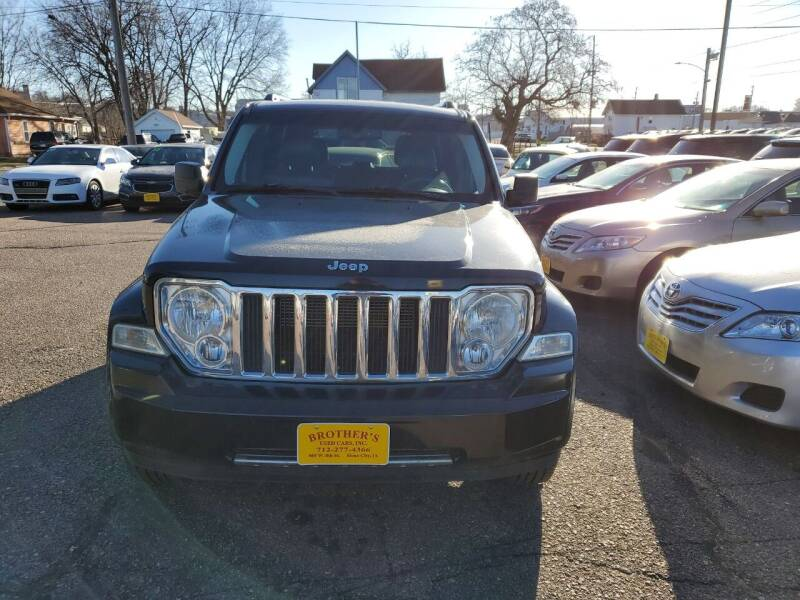 2011 Jeep Liberty for sale at Brothers Used Cars Inc in Sioux City IA