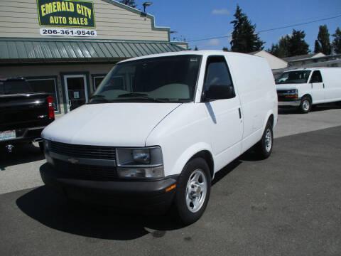 2005 Chevrolet Astro Cargo for sale at Emerald City Auto Inc in Seattle WA