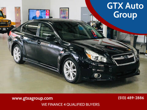 2013 Subaru Legacy for sale at GTX Auto Group in West Chester OH