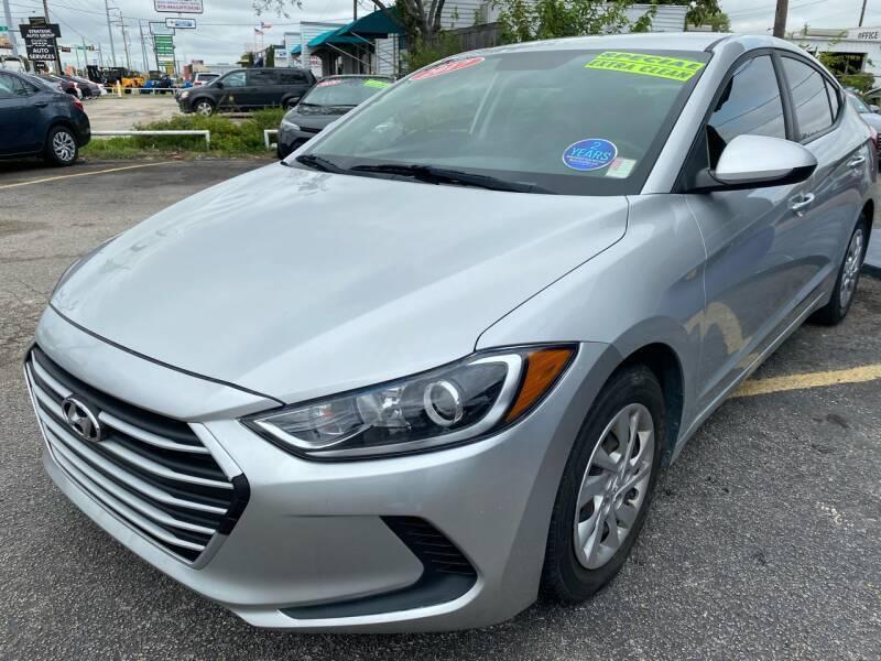 2017 Hyundai Elantra for sale at Cow Boys Auto Sales LLC in Garland TX