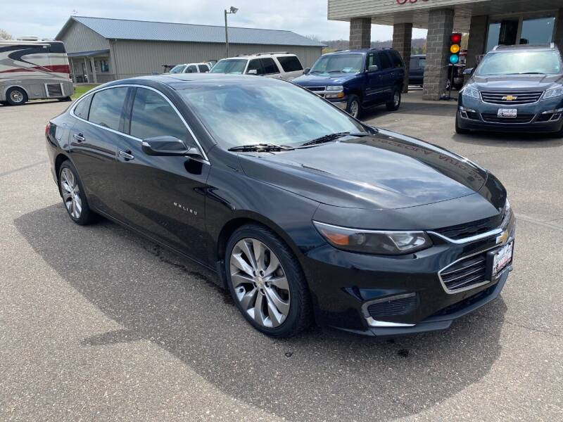 2017 Chevrolet Malibu for sale at Osceola Auto Sales and Service in Osceola WI
