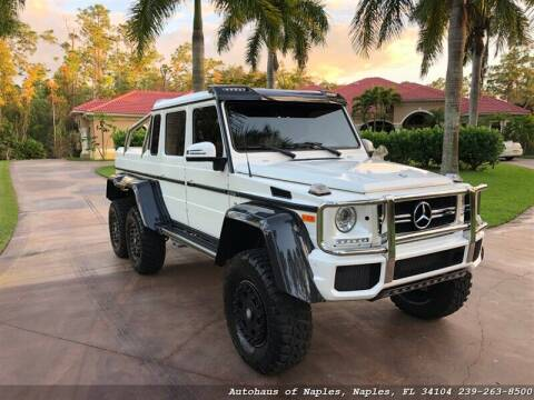 2017 Mercedes-Benz G-Class for sale at Autohaus of Naples in Naples FL