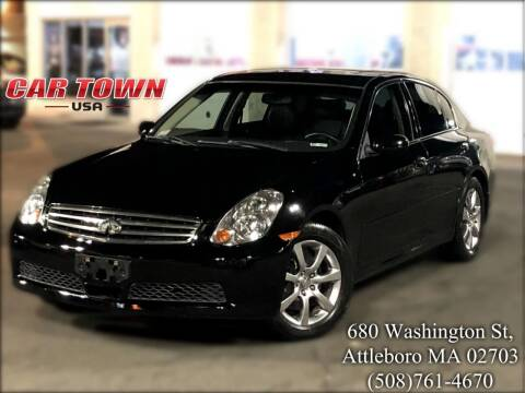 2006 Infiniti G35 for sale at Car Town USA in Attleboro MA