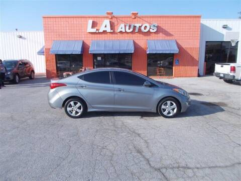 2012 Hyundai Elantra for sale at L A AUTOS in Omaha NE