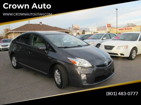 2010 Toyota Prius for sale at Crown Auto in South Salt Lake City UT