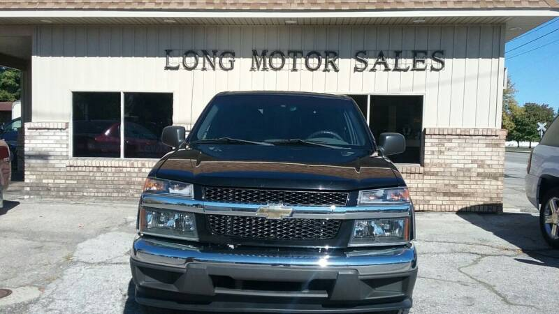 2005 Chevrolet Colorado for sale at Long Motor Sales in Tecumseh MI