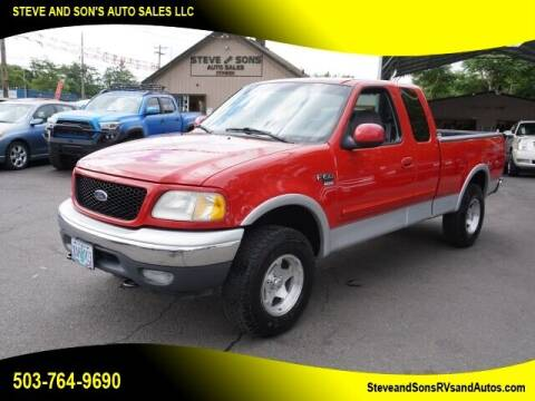 2000 Ford F-150 for sale at Steve & Sons Auto Sales in Happy Valley OR