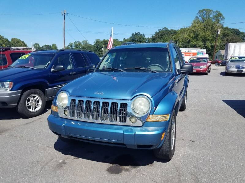 2005 Jeep Liberty for sale at Wheel'n & Deal'n in Lenoir NC