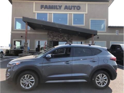 2017 Hyundai Tucson for sale at Moses Lake Family Auto Center in Moses Lake WA